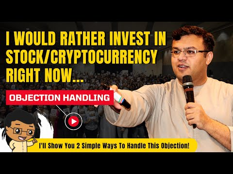 """Insurance Objection: """"I Would Rather Invest In The Stock Market Or The Cryptocurrency Right Now"""""""