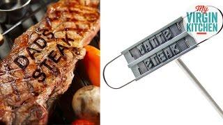 kitchen gadget testing bbq branding iron