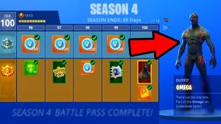 HOW I UNLOCKED TIER 100 in 1 DAY! (Fortnite: Battle Royale)
