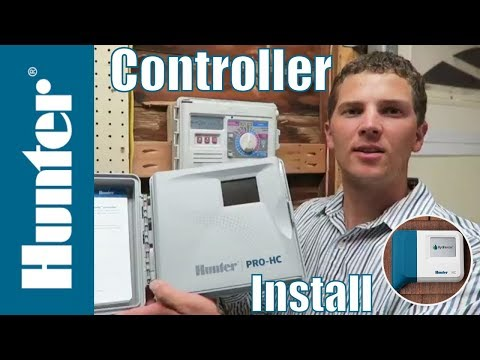 How to Install a Hunter Pro-HC (Hydrawise) Controller - TG Pro Tips