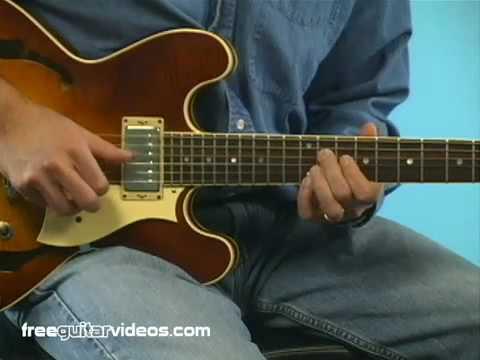 Blues Lesson: 3 Voice Turnaround