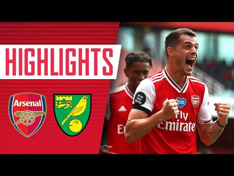 HIGHLIGHTS | Arsenal 4-0 Norwich | Premier League | July 1, 2020