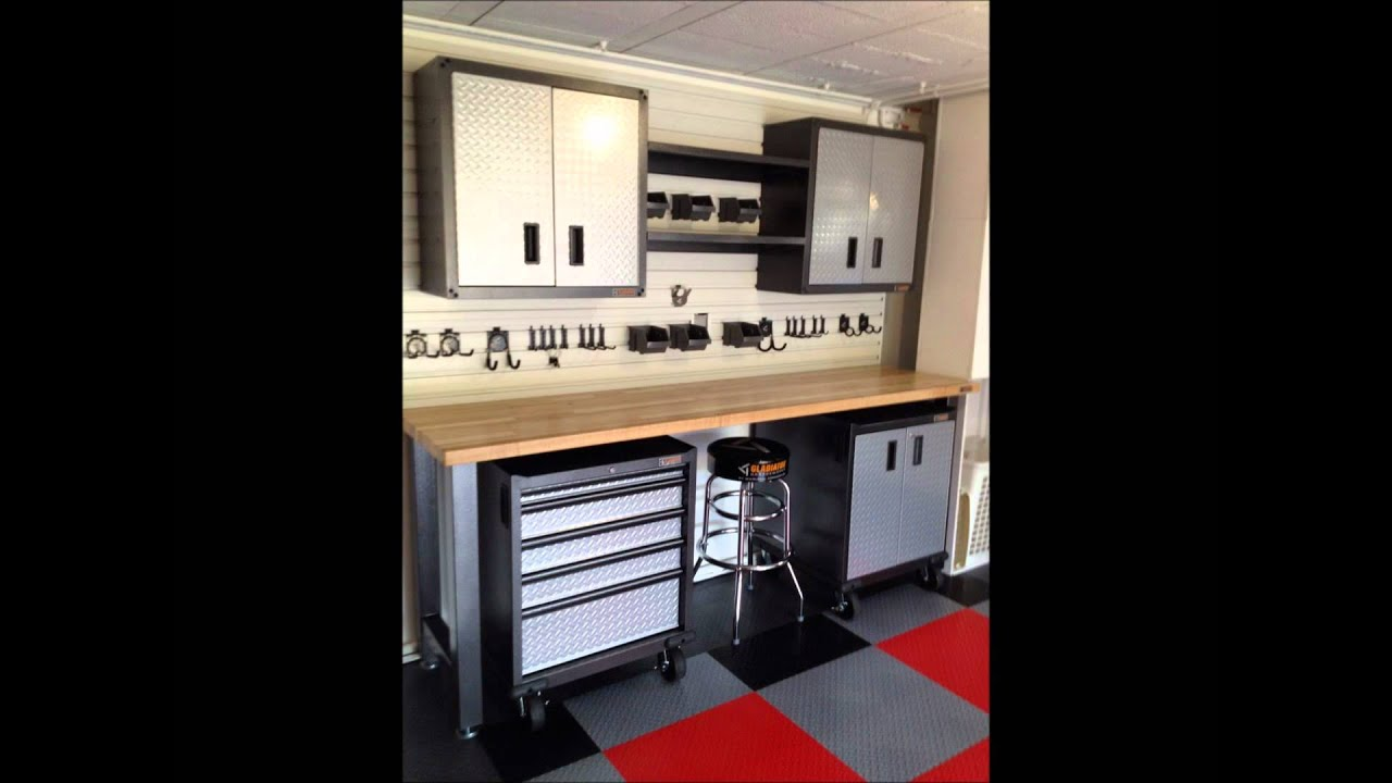Relooking garage am nagement et rangement garage youtube - Amenagement interieur de garage ...