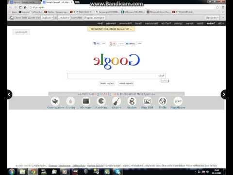 Neues Google = Elgoog