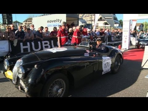 Classic cars enthusiasts race across France in Tour Auto 2014
