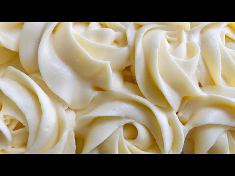 WHIPPED CREAM RECIPE   كريم كيك  روى كيك