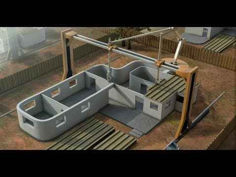 3D printing a house within 20 hours?
