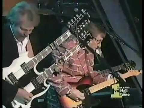 Eagles Hotel California Live at 1998 Hall of Fame Induction - YouTube.flv
