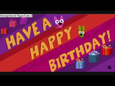 Happy Birthday, or Else! Starring Hoops and Yoyo!