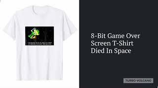 8-BIT DIED IN SPACE T-Shirt Launch Promo