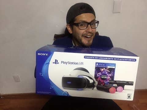 UNBOXING PLAYSTATION VR!!! EN ESPAÑOL.