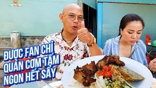 """Food For Good #506: Sư phụ bà xã chết mê cơm tấm sườn chéo """"xa lộ"""" Vạn Lợi Tiền Giang"""