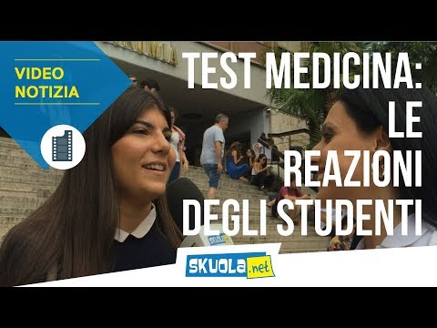 Test Ingresso Medicina 2018, gli studenti: 'Era difficile!'