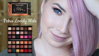 Podzimní líčení s paletkou By Petra Lovely Hair od Makeup Revolution | Markéta Venená