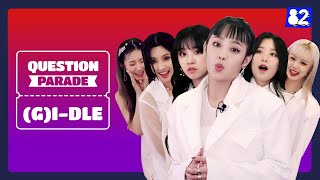 Download lagu (CC) We asked (G)I-DLE to do the most insane interviewㅣOh my godㅣQuestion Parade