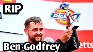 A british superbike rider has died at donington park.ben godfrey, 25, fell from his bike after hitting with another during the no limits trackdays e...