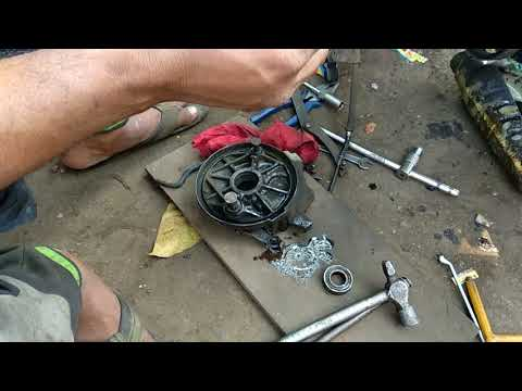 activa gearbox bearing replacement