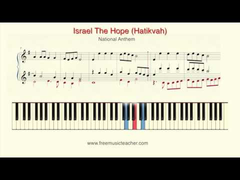 Israel The Hope Hatikvah National Anthem