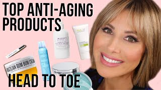 Top ANTI-AGING Products From Head to Toe | Dominique Sachse