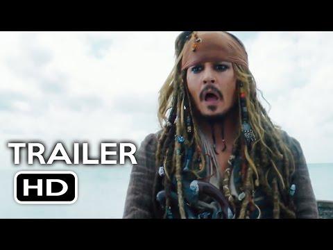 Pirates of the Caribbean 5 International Trailer #1 (2017) Johnny Depp Movie HD