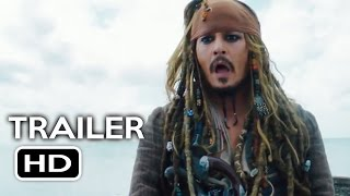 Pirates of the Caribbean 5 International Trailer #1 (2017) Johnny Depp Movie HD