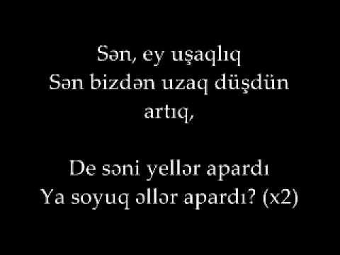 Oqtay Agayev Sən Ey Usaqliq Sozlər Youtube