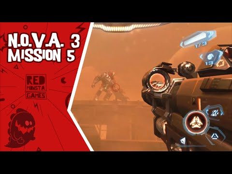 N.O.V.A  3: Freedom Edition [Mission 5: Hourglass] - Android Gameplay