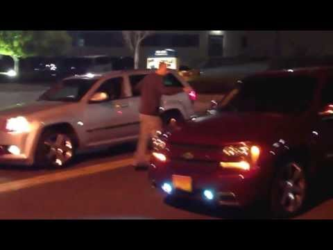 SRT8 Jeep vs Trailblazer SS  YouTube
