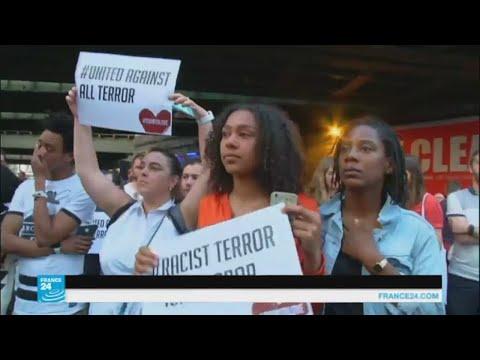 سكان لندن يتضامنون مع الجالية المسلمة بعد اعتداء على مسجد