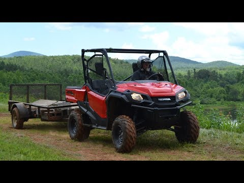 2017 Honda Pioneer 1000 EPS Review