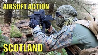 Airsoft War L96, M16, Echo1 RedStar Section8 Scotland