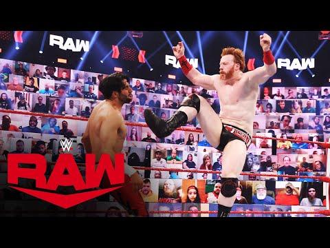 Mansoor vs. Sheamus: Raw, May 3, 2021