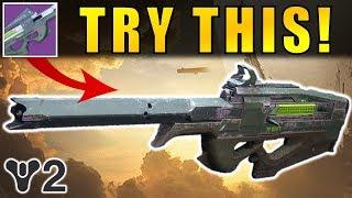 Destiny 2 Beta: TRY THIS WEAPON! | Black Scorpion-4SR Scout Rifle