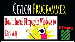 Free Video Conversion Tool: How to Install FFMPEG on Windows