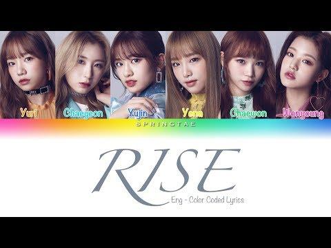 Jonas Blue ft. IZ*ONE (아이즈원) – 'RISE' (Color Coded Lyrics/Eng)