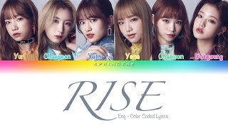 Jonas Blue ft. IZ*ONE (아이즈원) – 'RISE' (Color Coded Lyrics/Eng)