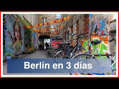 Berlín en tres días y medio. Consejos e información práctica.