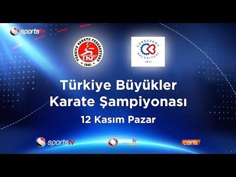 Büyükler Türkiye Karate Şampiyonası Sports TV'de! |#Karateturk