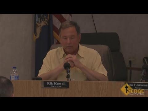 May 23, 2017 Township Board Meeting