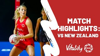 Vitality Netball Nations Cup | Vitality Roses vs. ...