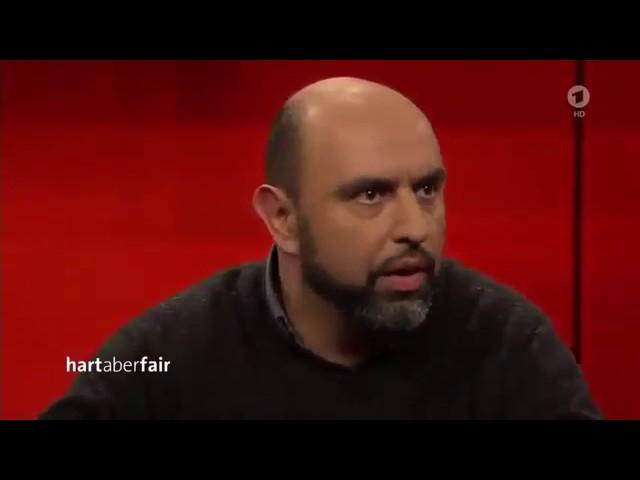 Serdar Somuncu bei Frank Plasberg - Hart aber Fair