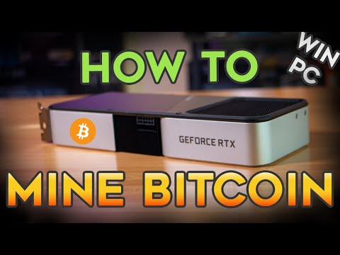 how to start mining bitcoins youtube