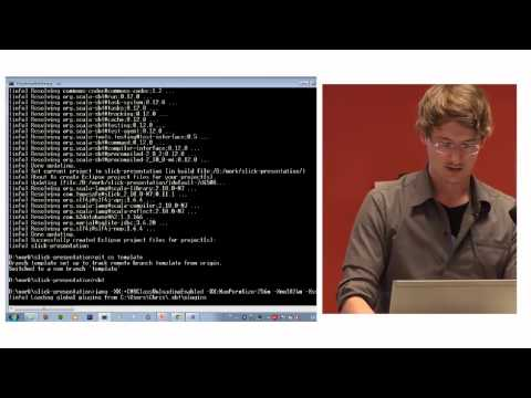 Typesafe Slick - Bay Area Scala Enthusiasts - October 2012 (old version)