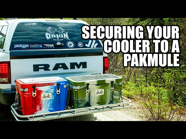 Securing a Cooler to a Pakmule | Orion Quick Tips