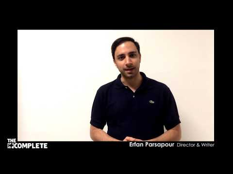 Erfan Parsapour's Speech