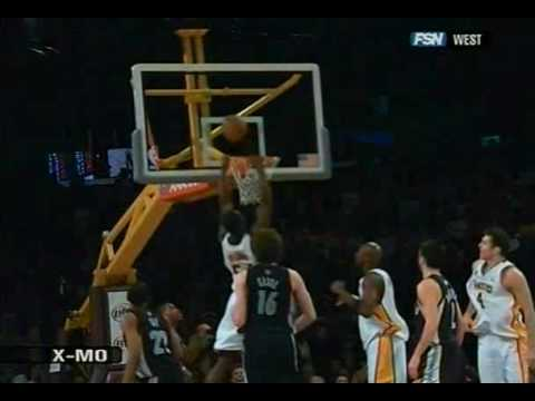 Kwame Brown Wins the game