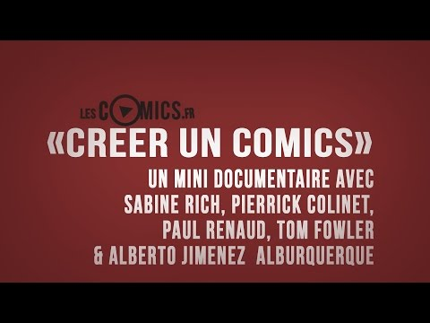 [Documentaire] Comment on créé un comics ?