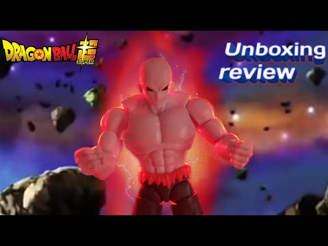 Unboxing review jiren Dragon ball súper. (figura destacada del mes )