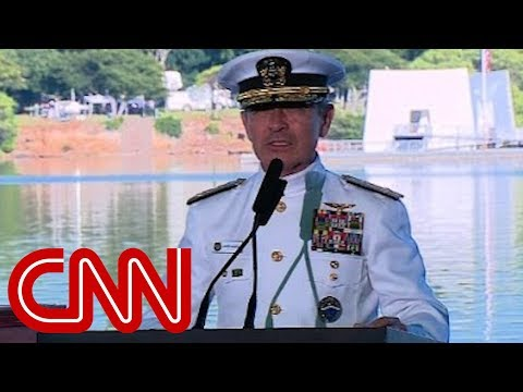 Navy Admiral Burns Colin Kaepernick