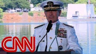 Navy admiral burns Colin Kaepernick